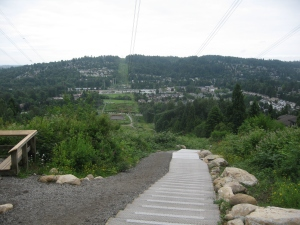 Coquitlam Crunch - This is a fun hike to do if your goal is to get a work out in. The air in this hike is very fresh and if you go on a sunny day, you're sure to get a nice workout. I recommend it for the purpose of exercise.